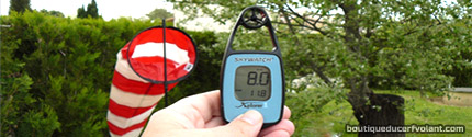 Mesurer le vent avec un anémomètre