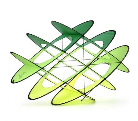 Single line Kite Prism Flip