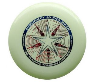 Frisbee Discraft Ultrastar Nite Glo 175