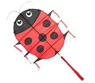 Single line kite HQ Flapping LILLIE LADYBUG