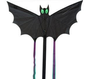 Single line kite HQ BAT BLACK