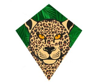 Single line kite Wolkensturmer EDDY Leopard