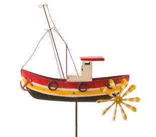 Eolienne Métal Bateau de pêche