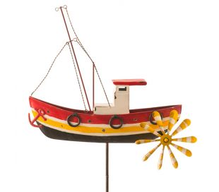 WIND SPINNER FISCHING BOAT