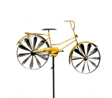 WIND SPINNER BICYCLE YELLOW