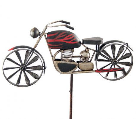 WIND SPINNER Motorcycle Flame
