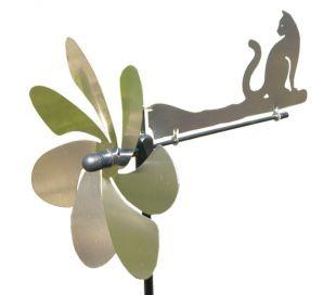 WIND SPINNER STEEL CAT