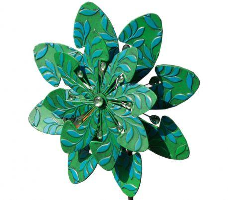 WIND SPINNER KINETIC EXOTIC FLOWER SAMOA