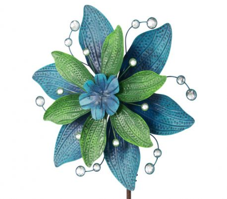 WIND SPINNER KINETIC EXOTIC FLOWER MARTINIQUE