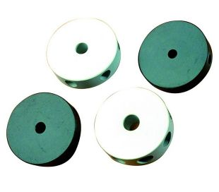 Round nylon center joint, 6 holes, 8mm