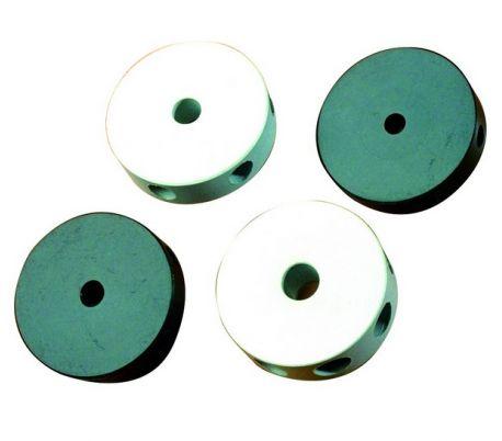 Moyeux central ronds, 6 trous, 8mm