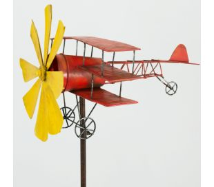WIND SPINNER AERO PLANE RED BARON